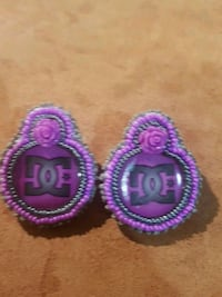 purple DC Shoes stud earrings Edmonton, T5G 1H3