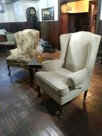 Used Vintage Settee Bench Chair Solid Wood For Sale In