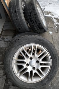 4 195/60 R15 Rims and Tires for sale LONDON