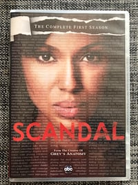 Scandal, First Season (2 dvds) Herndon, 20171