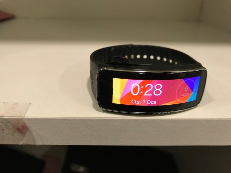 SAMSUNG GEAR FİT SM R350 1