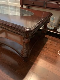 Real wood coffee table and couch table  Richmond Hill