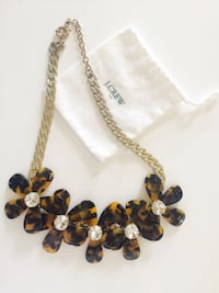 J Crew tortoise necklace Los Angeles, 90065