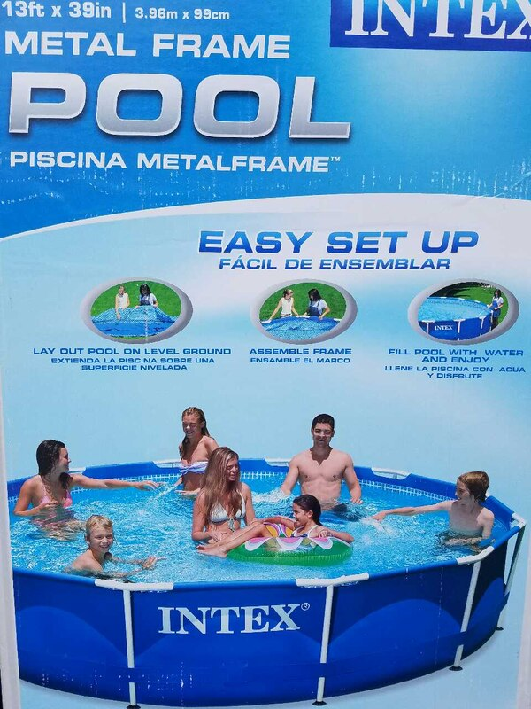 Excelente Intex Piscina Marco De 15 X 48 De Metal Ideas - Ideas de ...