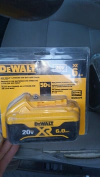 DeWalt XR 20V 6ah battery Brand New Glenn Dale, 20769