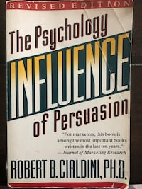 The psychology influence of persuasion.