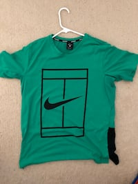 Nike V-Neck Green Tee Fairfax, 22030