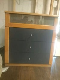 brown wooden 4-drawer chest great for children roo Capitol Heights, 20743