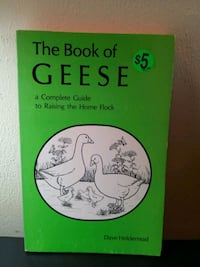 GEESE The Book of Raising them Saint Helens, 97051
