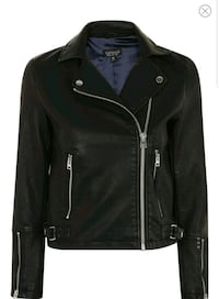 New small (Tall) faux biker jacket Toronto, M2N 7C3