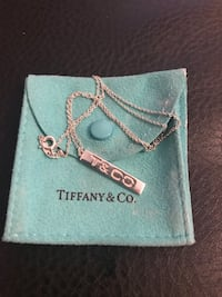 tiffany and co bar necklace West Islip, 11795