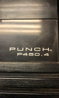 450.4 punch oschool Fosgate amp do many things with this mods done