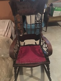 Antique Rocking Chair Clearview, L0M