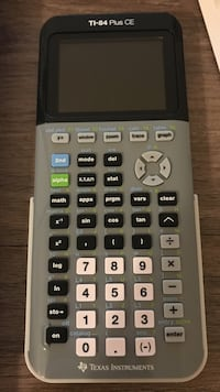 gray and black Texas Instruments TI-84 Plus CE