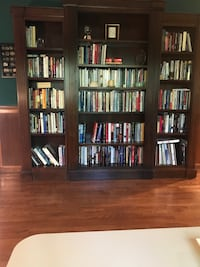 Gorgeous, cherry wood book case for sale