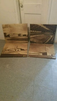 Vintage 1900's Old Picture 4 Piece Lot East Chicago, 46312