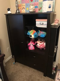 Espresso armoire with drawers and shelves Ajax, L1T 3B7
