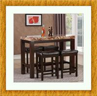 5pc Pub table with 4 stools free delivery Temple Hills