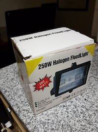 250W Halogen Floodlight box Kristianstad, 291 38
