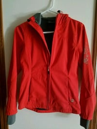 red zip-up jacket Lowell, 46356