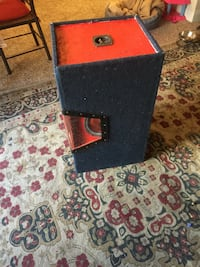 black and red wooden box Beltsville, 20705