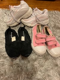 Toddler girls size 8 shoes