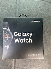 Brandnew Samsung Galaxy Watch 46 mm sealed in box