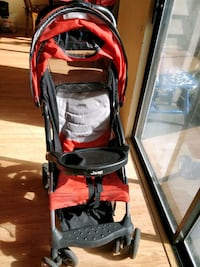 baby's red and black stroller Redmond, 98052