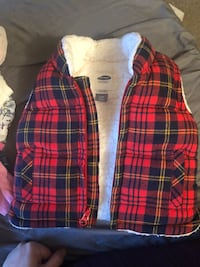 Flannel fleece vest 3-6m  47 km
