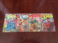 X-MEN 1st issue 4 Different Covers Mint
