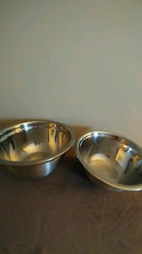 Stainless Steel Mixing Bowls (2) Kingston