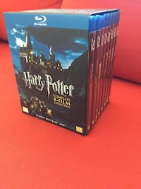 Harry Potter blu ray 8 disc Oslo, 0452
