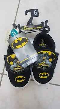 Brand new Boys size 6 Batman shoes Mississauga