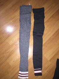 black and gray track pants Langley, V1M 2R2