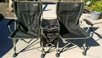 Double camping chairs plus Valley Springs, 95252