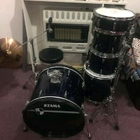 Drumset w/ cymbal and ride stands. Stick bag w/ dr Prince George's County, 20785