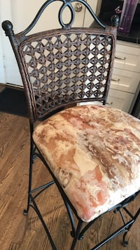 2 iron barstools French country  Annandale, 22003