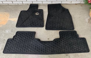 Lexus RX 350 all-weather mats genuine OEM