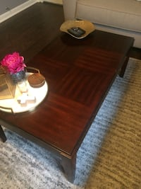 Wooden Coffee and End Table Set