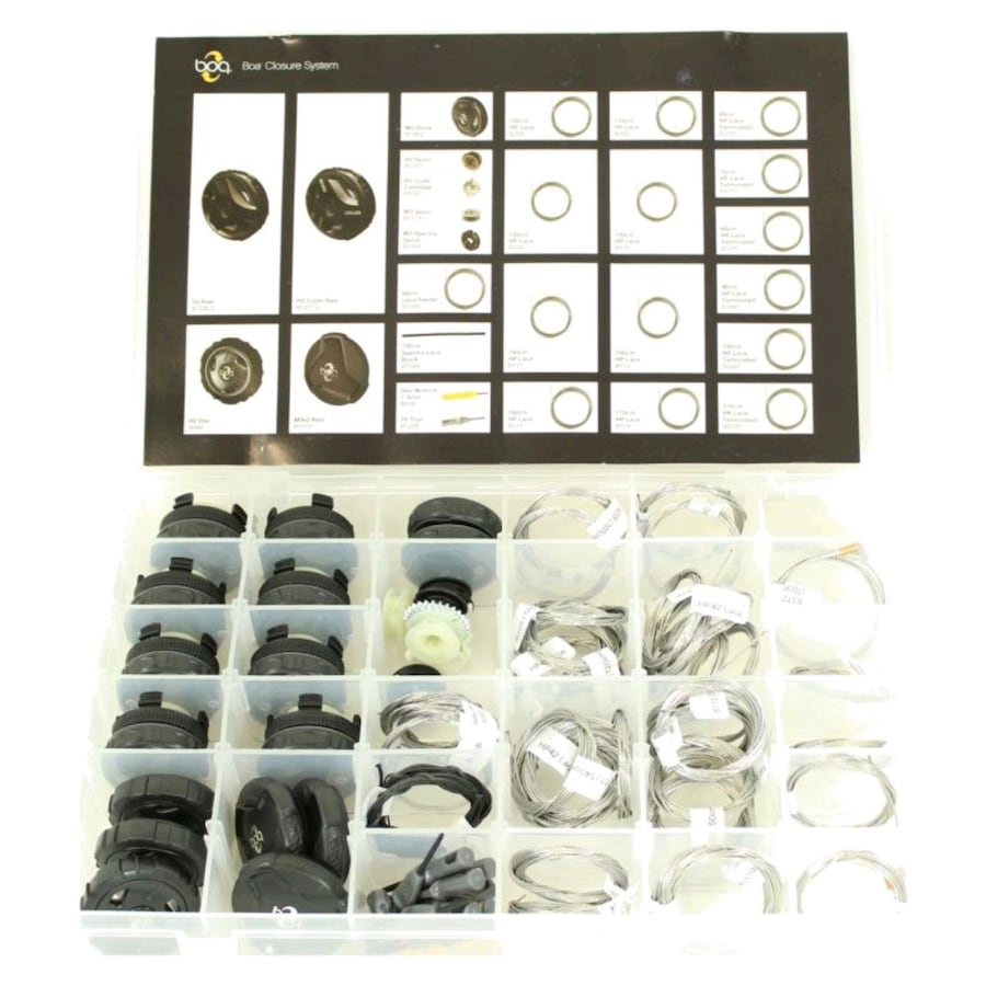 40+ pieces BOA closure system spare parts kit