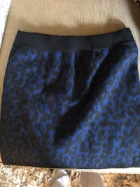 black and blue floral skirt North Vancouver, V7R 3W3