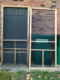 Wood screen doors. Holly, 48442