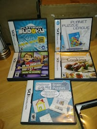 Nintendo DS Games with cases & manuals