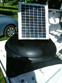 Steel Solar Power Roof Vent   Frederick