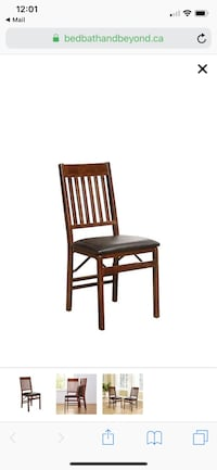 Mission Back Wood Folding Chair