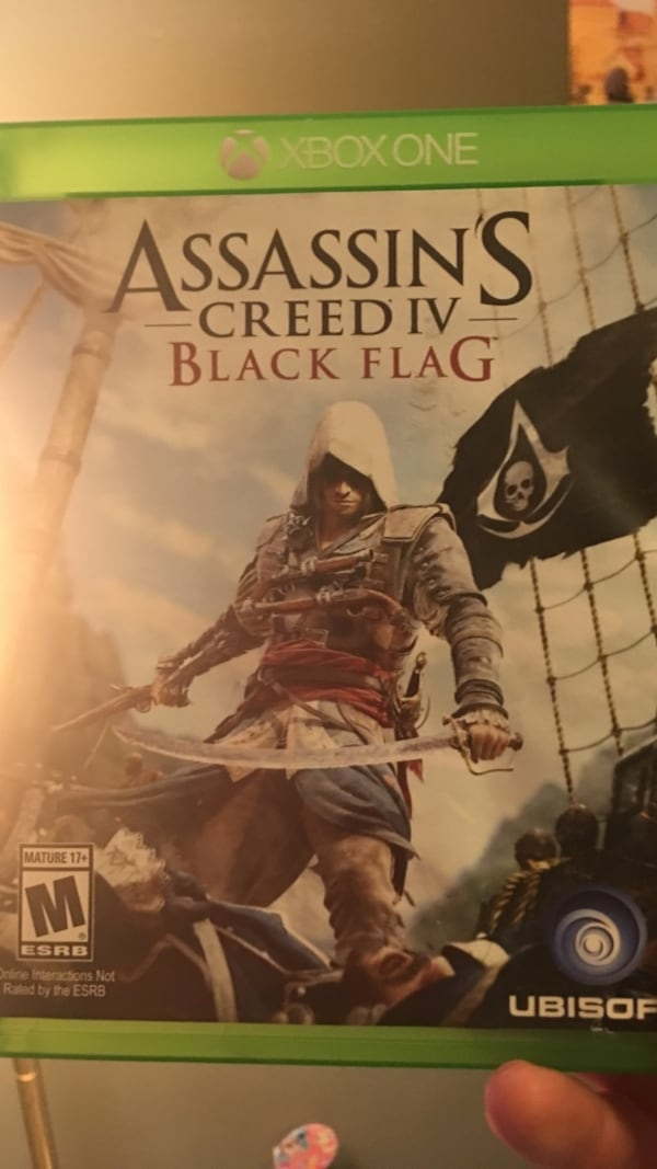 Used Assassin S Creed Iv Black Flag Ps4 Game Case For Sale In