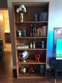 Brown IKEA book shelf for sale!!!