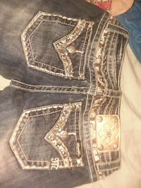 blue Miss Me denim bottoms Pine Mountain Valley, 31823