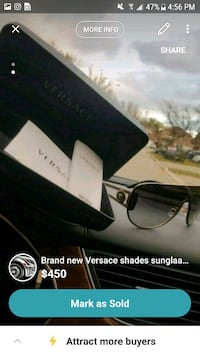 Brand new Versace shades sunglasses  Mississauga