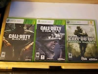 Call of Duty Xbox 360 games New Westminster, V3M 2J2